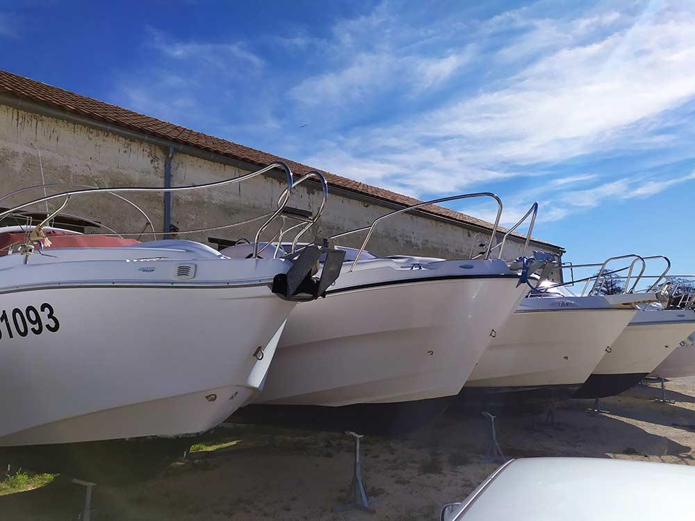 Stockage de votre bateau en extérieur simple